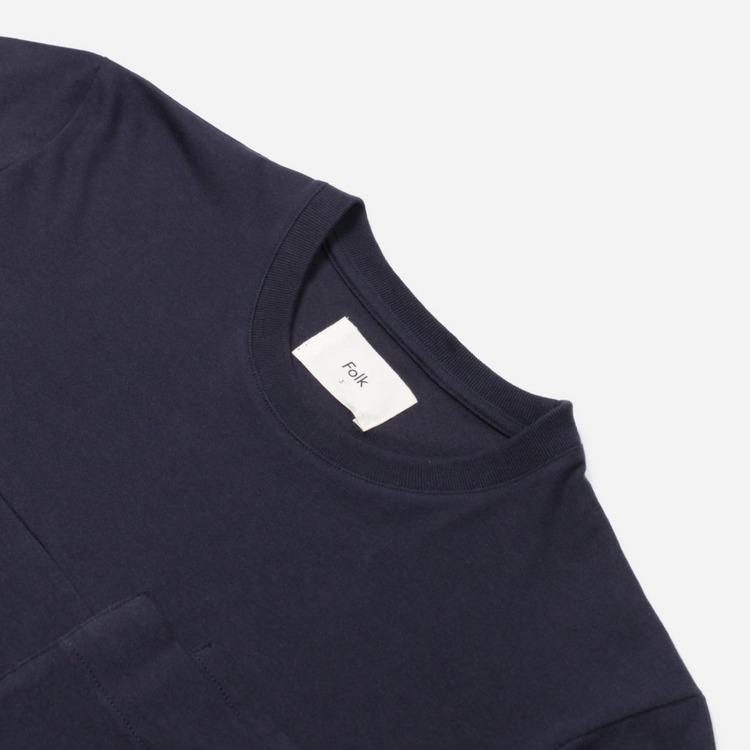 Folk Angle Pocket T-Shirt