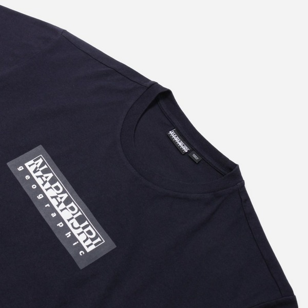 Napapijri Box Logo Short Sleeve T-Shirt