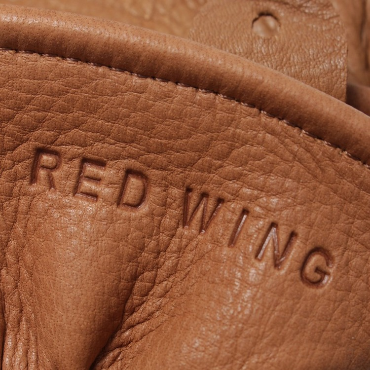 Red Wing Buckskin Lined Gloves