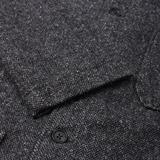 Engineered Garments Wool Herringbone Long Sleeve Dayton Shirt