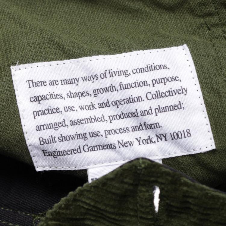 Engineered Garments Corduroy Fatigue Pants