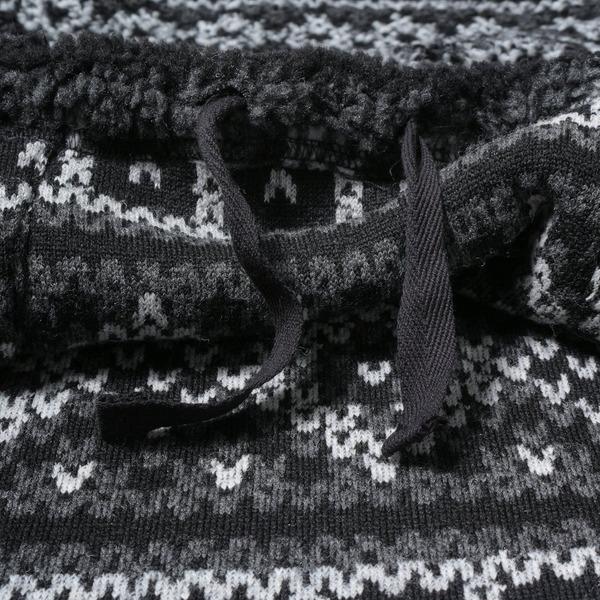 Engineered Garments Fair Isle Knitted Hoodie