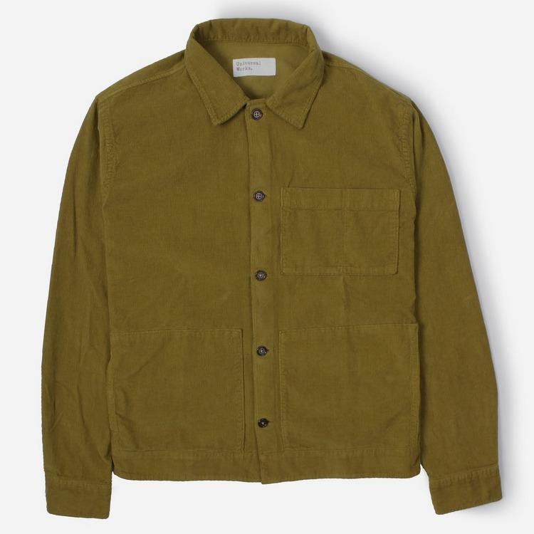 Universal Works Fine Cord Uniform Overshirt