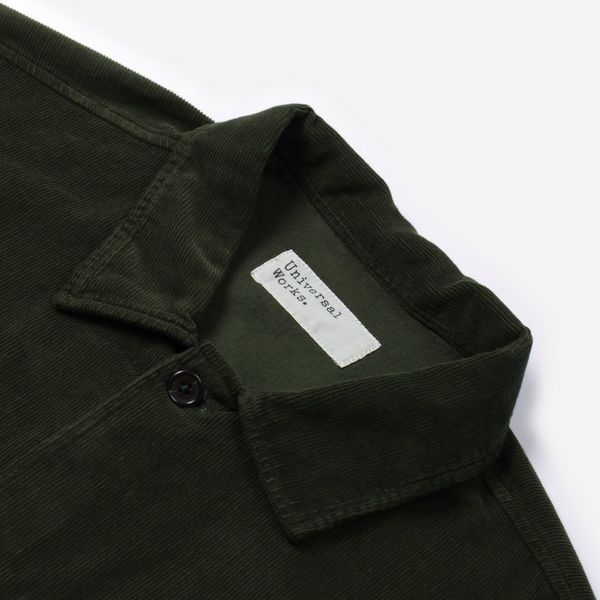 Universal Works Fine Cord Uniform Overshirt