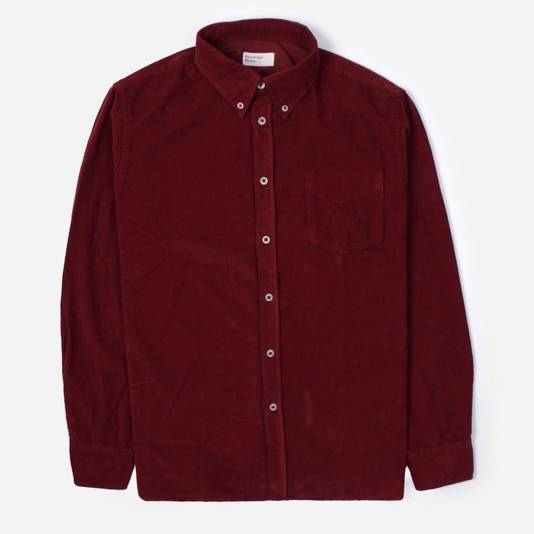 Universal Works Super Fine Cord Everyday Long Sleeve Shirt