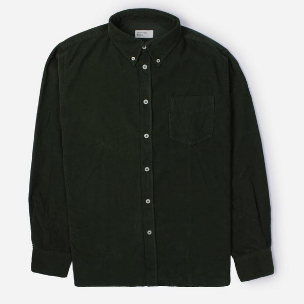 Universal Works Super Fine Cord Everyday Long Sleeve Shirt