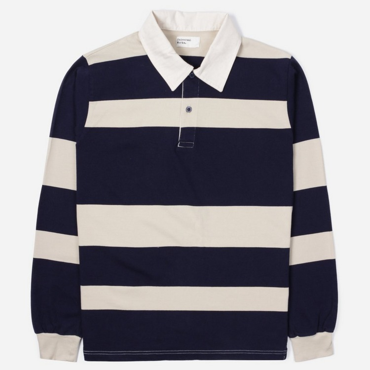 Universal Works Rugby Long Sleeve Sweat