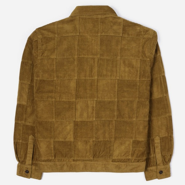 Universal Works Patchwork Cord Zip Uniform Jacket