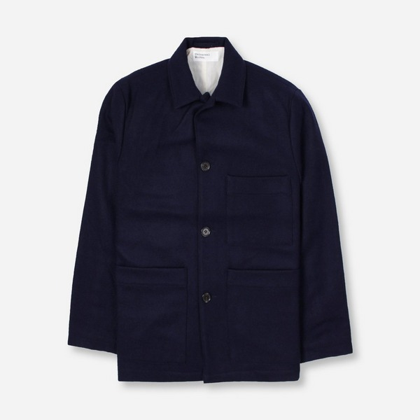 Universal Works Melton Simple Bakers Jacket