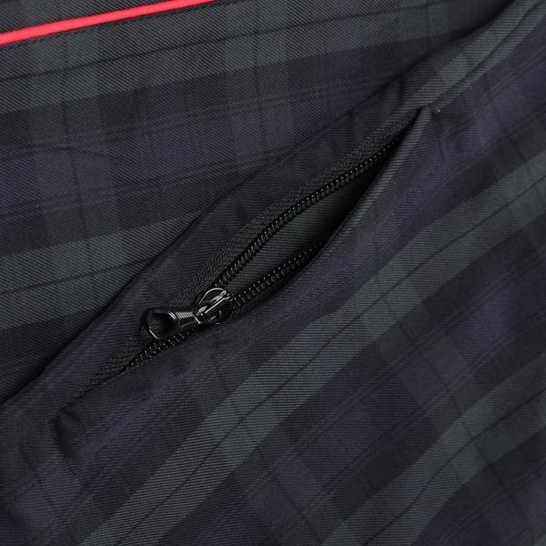 Tres Bien Popover Tartan Jacket