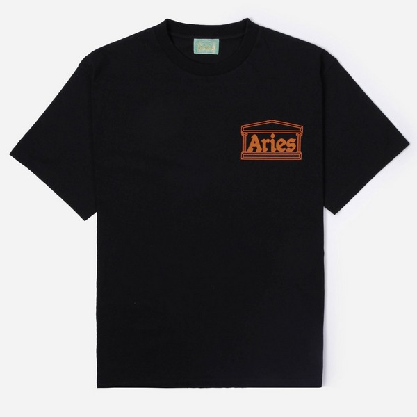 Aries Classic Temple Short Sleeve T-Shirt