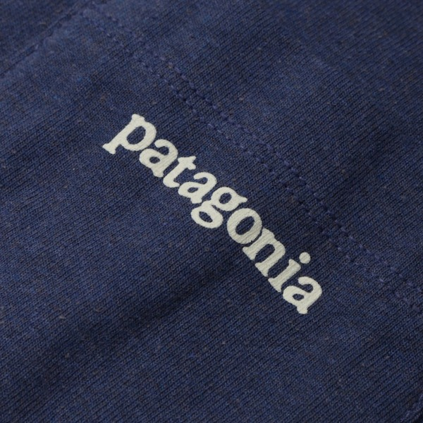 Patagonia Line Logo Ridge Pocket Responsibili Short Sleeve T-Shirt