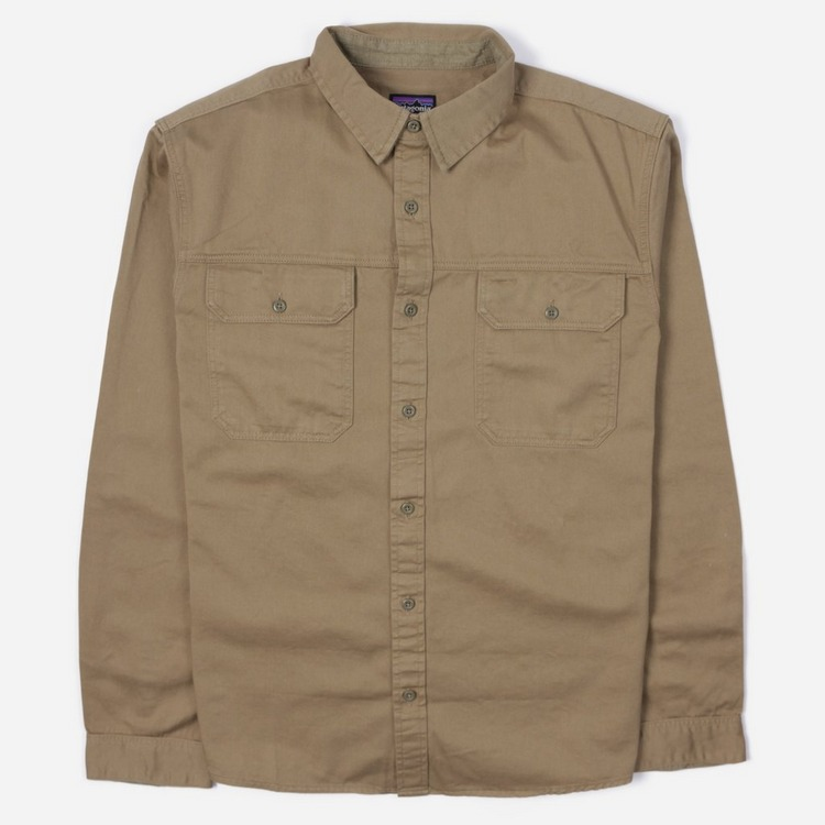 Patagonia Four Canyons Twill Long Sleeved Shirt