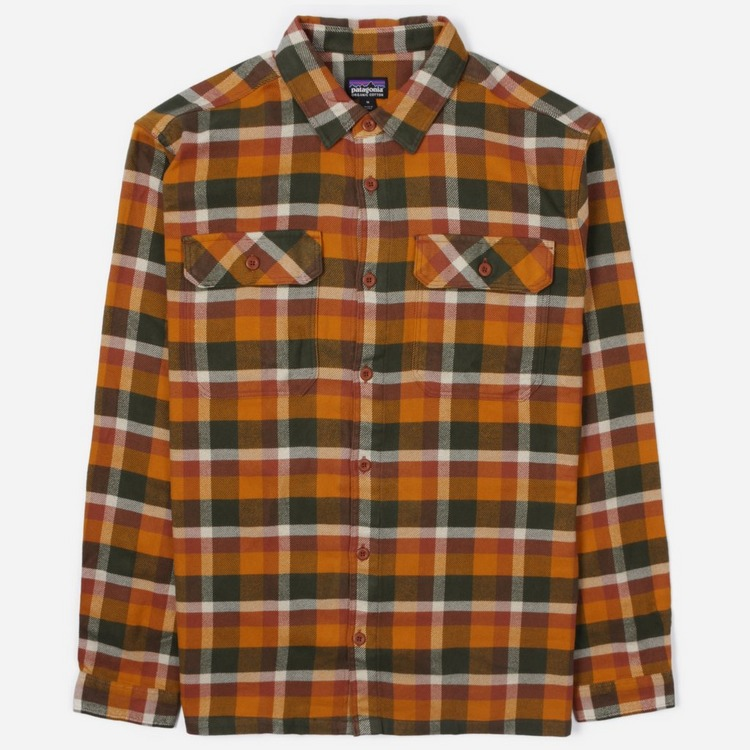 Patagonia Fjord Flannel Long Sleeve Shirt