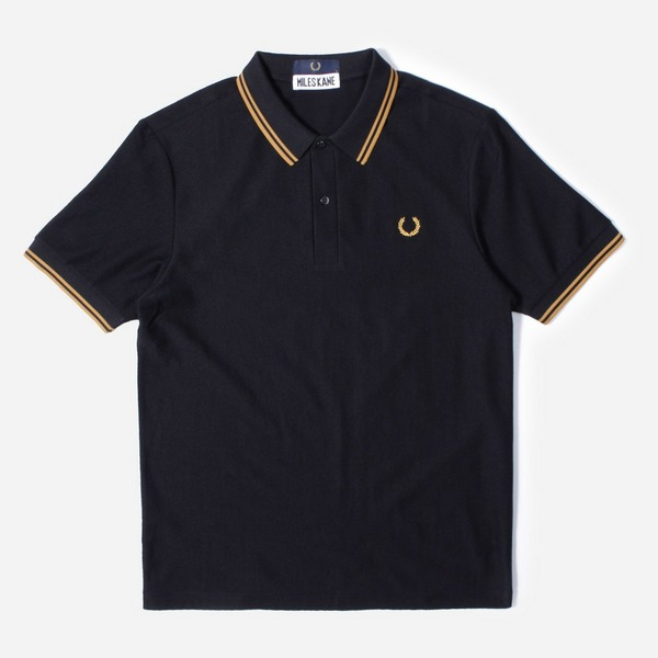 Fred Perry x Miles Kane Textured Polo Shirt