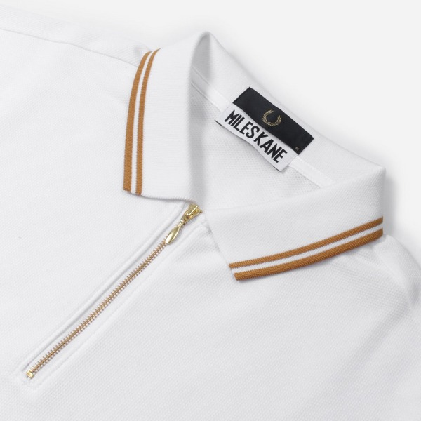 Fred Perry x Miles Kane Kane Zip Polo Shirt