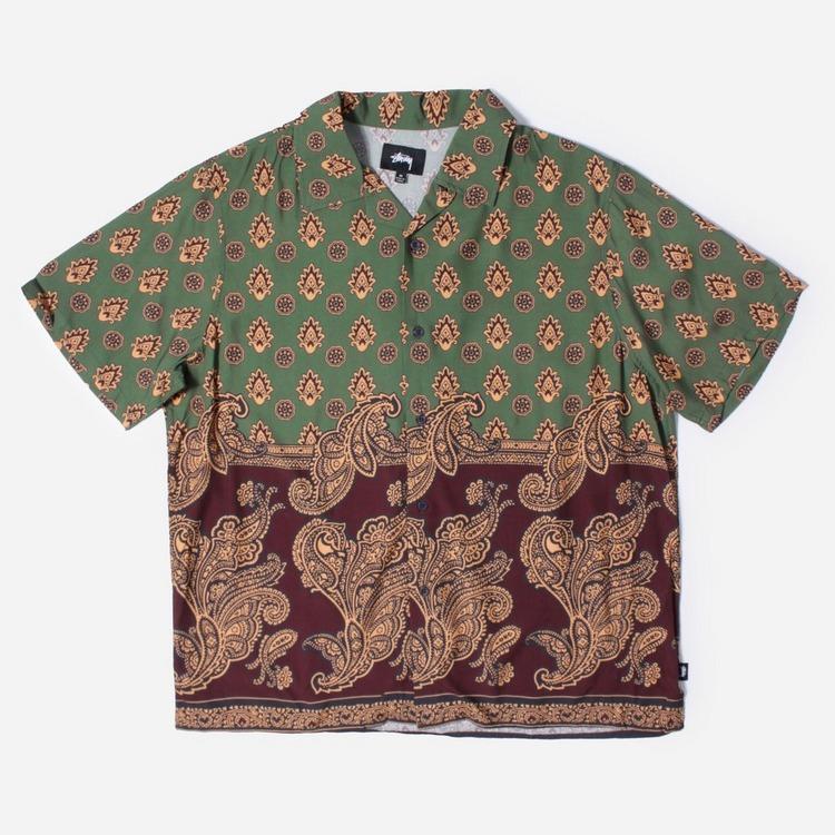 Stussy Block Paisley Shirt