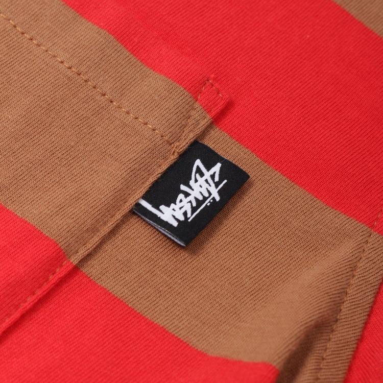 Stussy Classic Stripe Short Sleeve T-Shirt