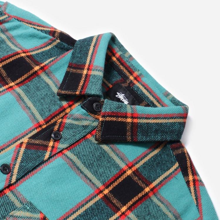 Stussy Ace Plaid Shirt