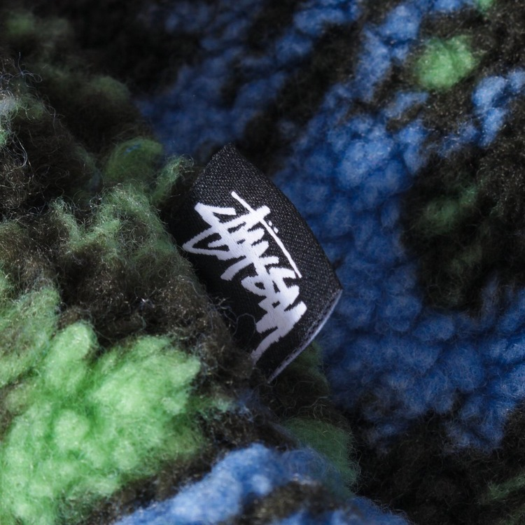 Stussy Hawaiian Jacquard Mock Fleece
