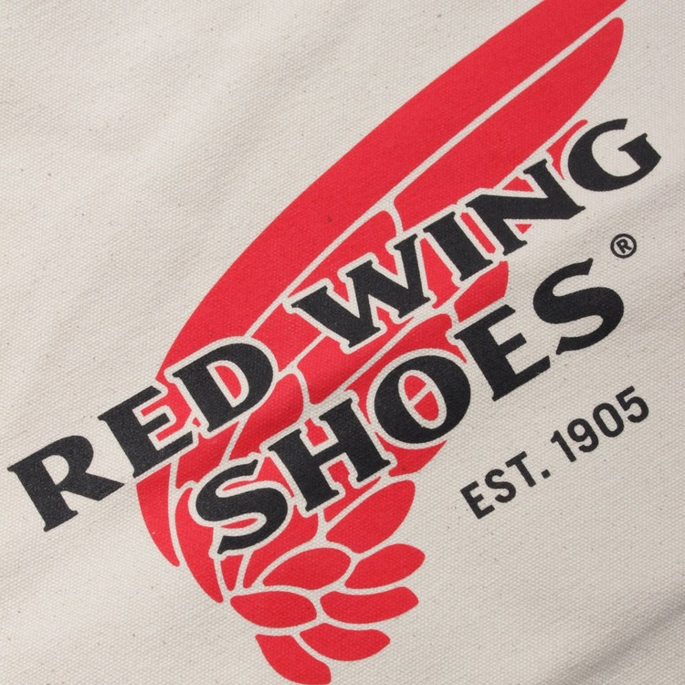 Red Wing Canvas Tote Bag