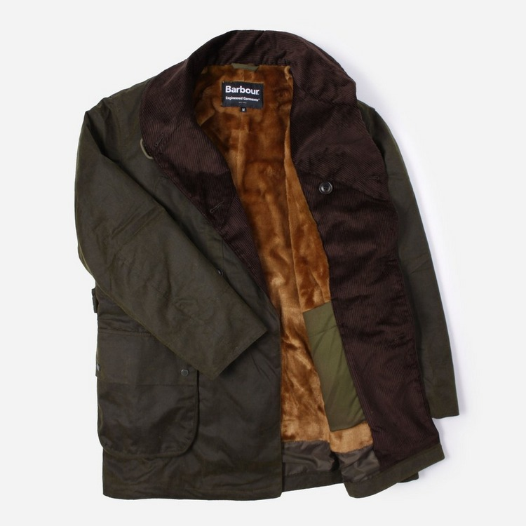 Barbour x Engineered Garments Mackinaw Wax Jacket