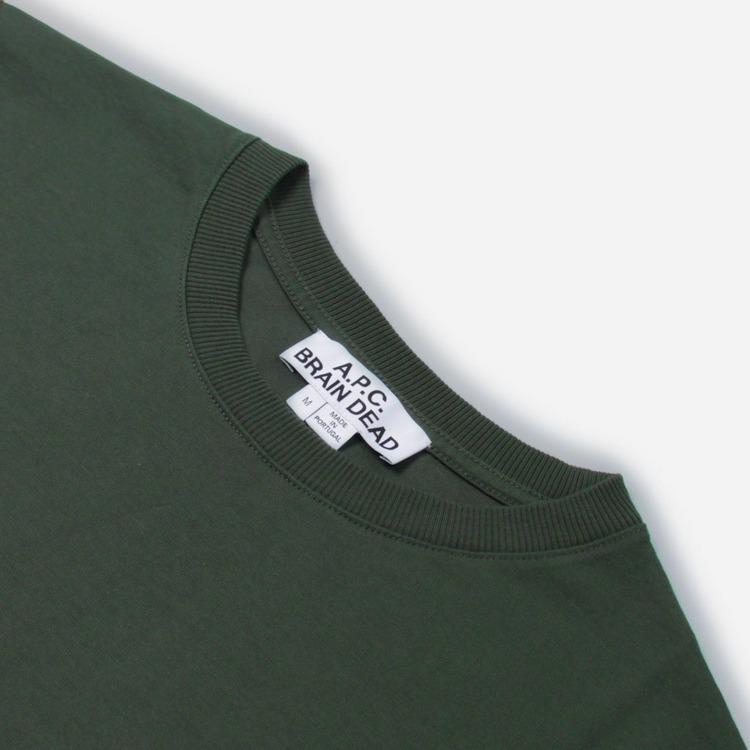 A.P.C. x Brain Dead Molly T-Shirt Long Sleeved