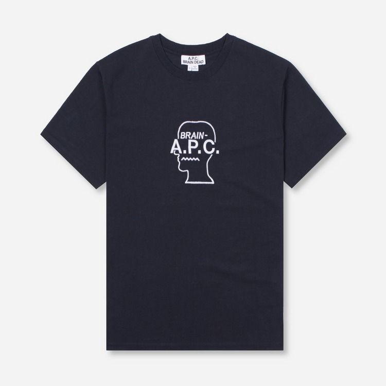 A.P.C. x Brain Dead Spooky T-Shirt