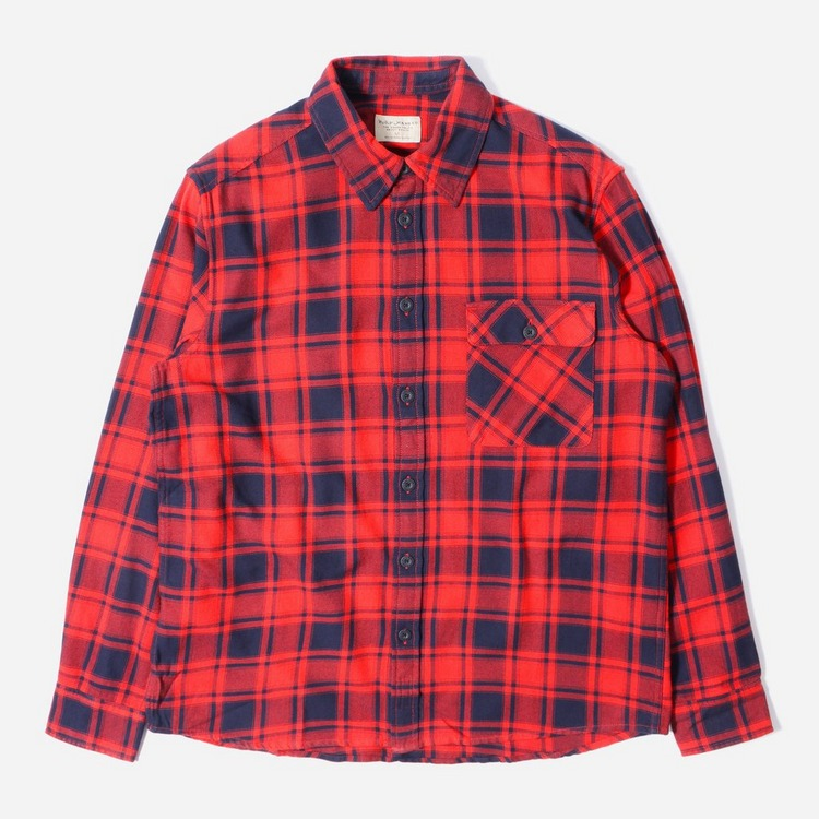 Nudie Jeans Co. Sten Flannel Check Shirt