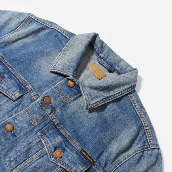 Nudie Jeans Co. Jerry Dark Worn Denim Jacket