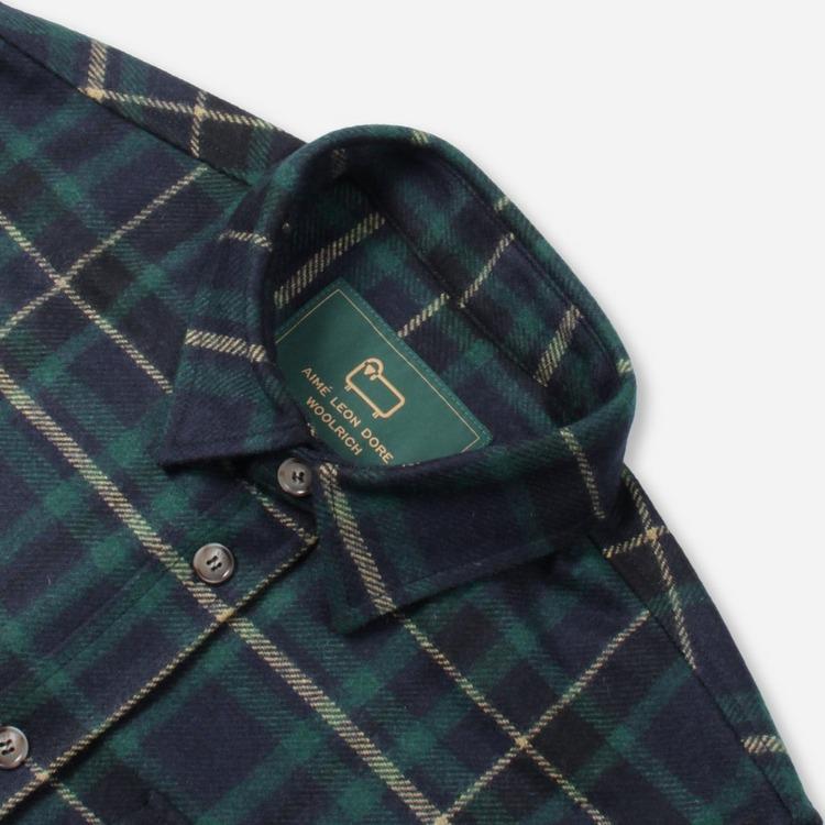 Aime Leon Dore x Woolrich Plaid Button Shirt