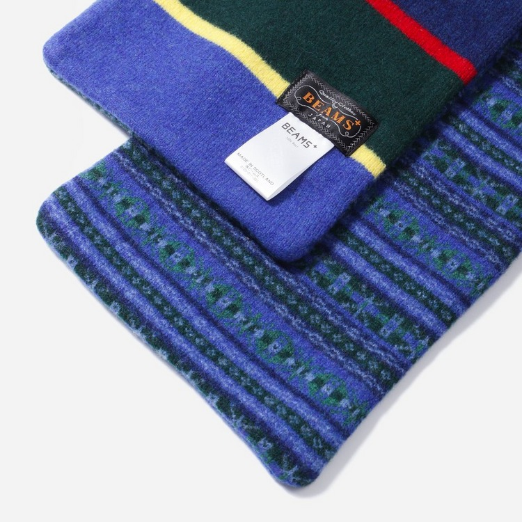 Beams Plus Jaquard Scarf