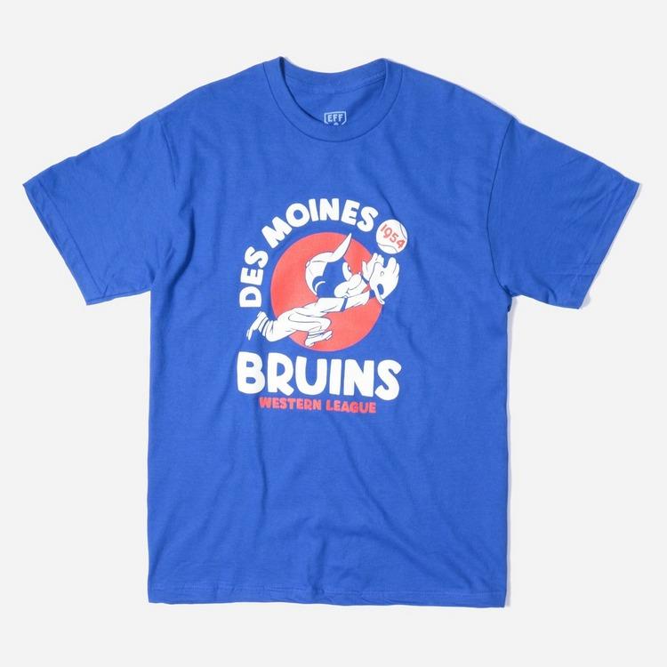 Ebbets Field Flannels Des Moines Bruins 1954 T-Shirt