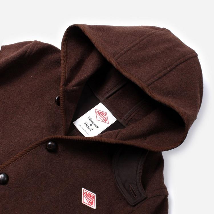Danton Wool Mossa Hooded Jacket