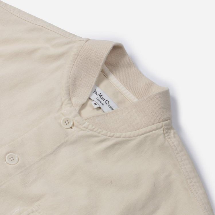 YMC Delinquents Rib Collar Shirt