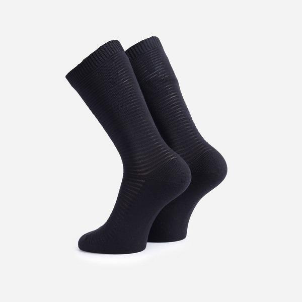 Folk Rib Stripe Socks