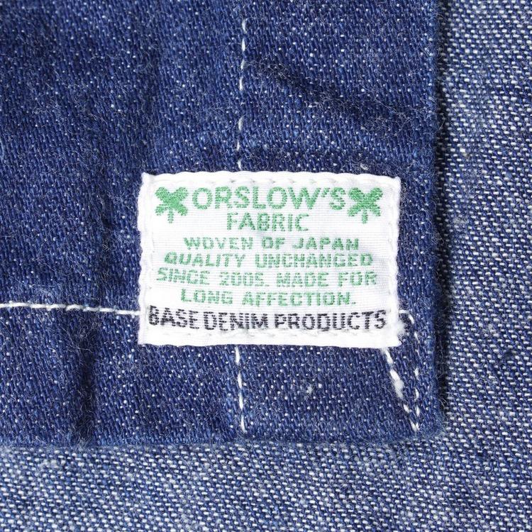 orSlow Hooded Shirt Jacket 9OZ