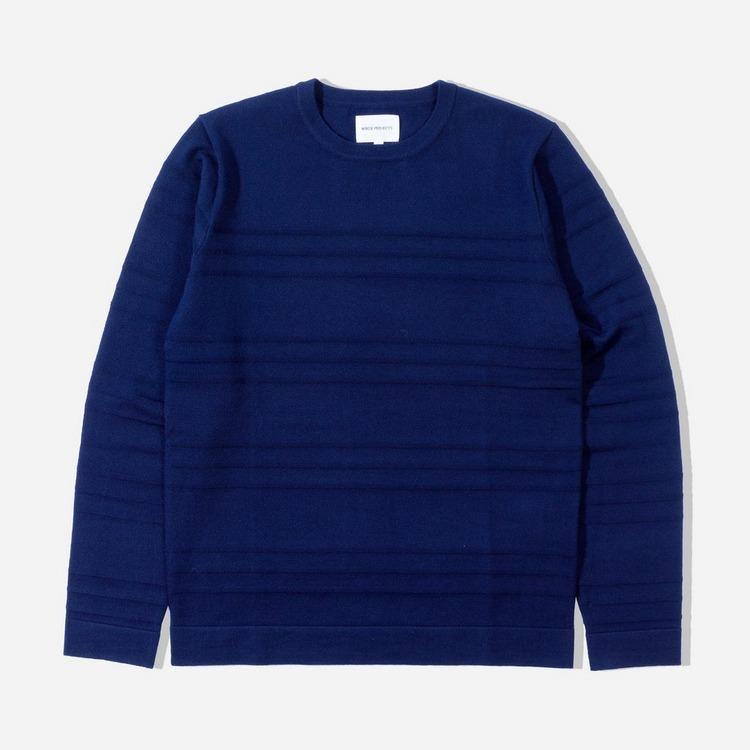 Norse Projects Skagen Tech Merino Stripe T-Shirt