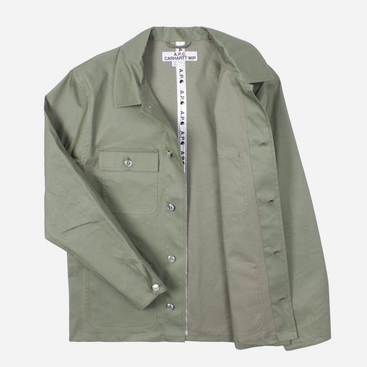 A.P.C. x Carhartt WIP Michigan  Veste Jacket