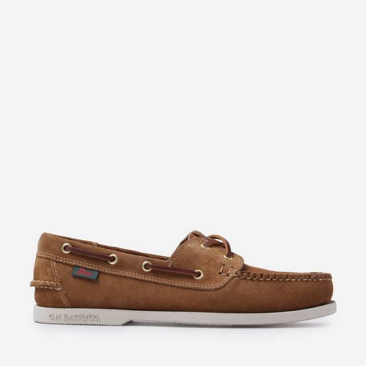 G.H. Bass & Co. Suede Jetty Boater