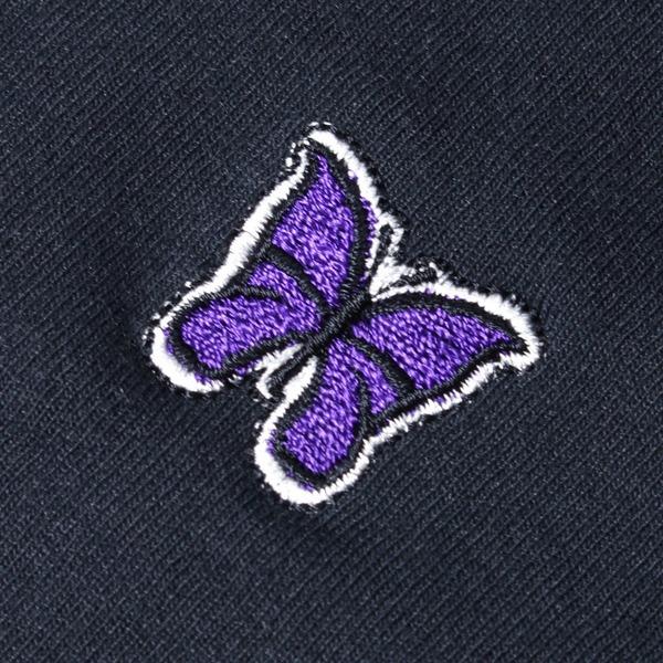 Needles Synthetic Jersey Long Sleeves Mock T-Shirt