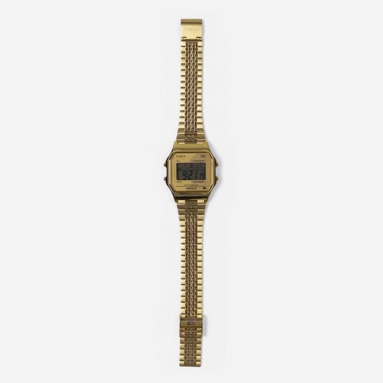 Timex Gold Tone Bracelet Watch