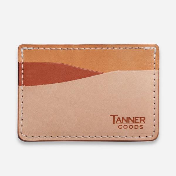 Tanner Goods Journeyman Card Holder - Sahara