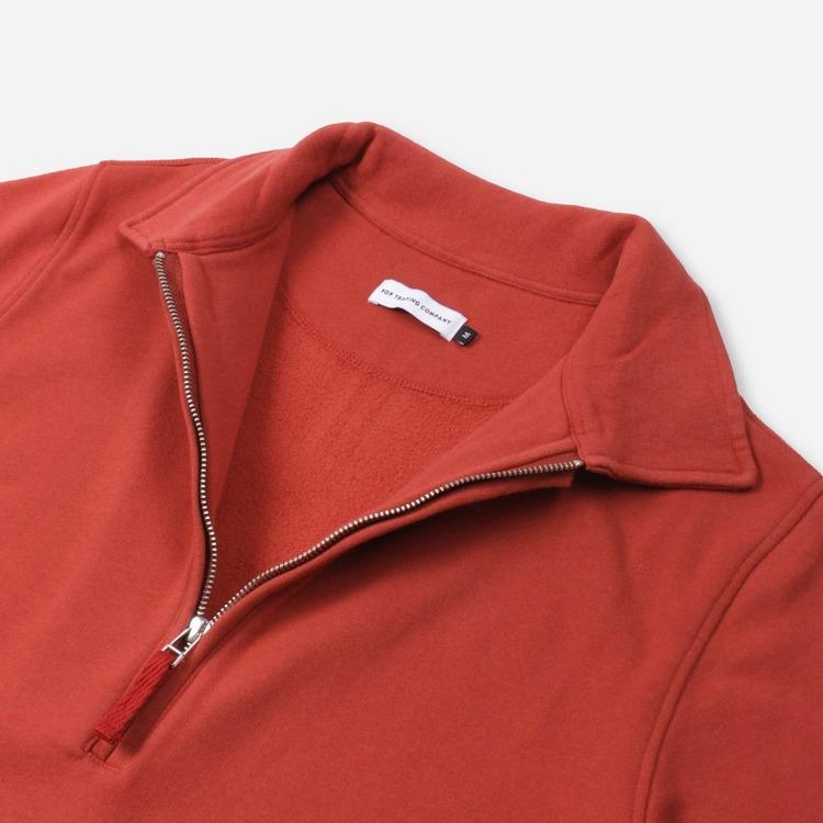 Pop Trading Company Heavy Sportswear Company Half Zip