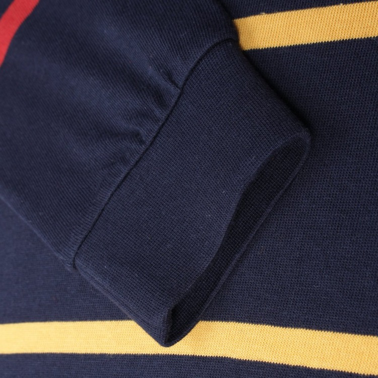 Pop Trading Company Striped Long Sleeved T-Shirt