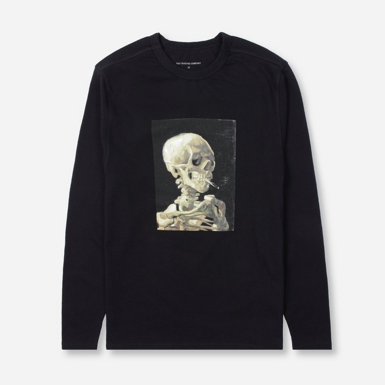 Pop Trading Company Van Gogh Long Sleeved T-Shirt