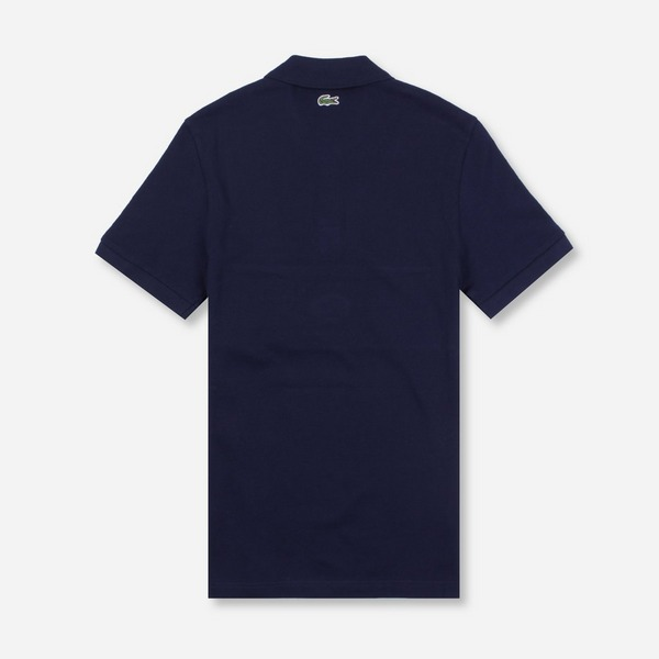 Lacoste Short Sleeved Ribbed Collar Shirt