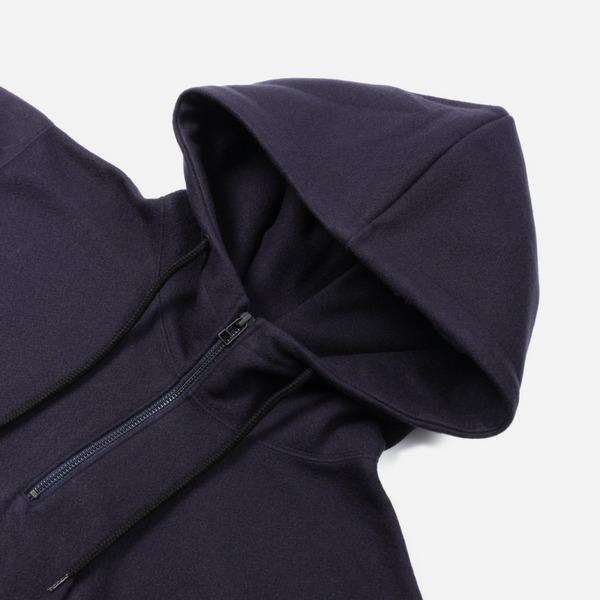 Sophnet Knit Melton Half Zip Hoodie