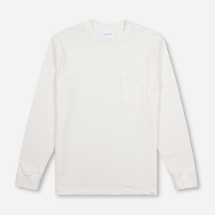 Norse Projects Johannes Pocket Long Sleeved T-Shirt