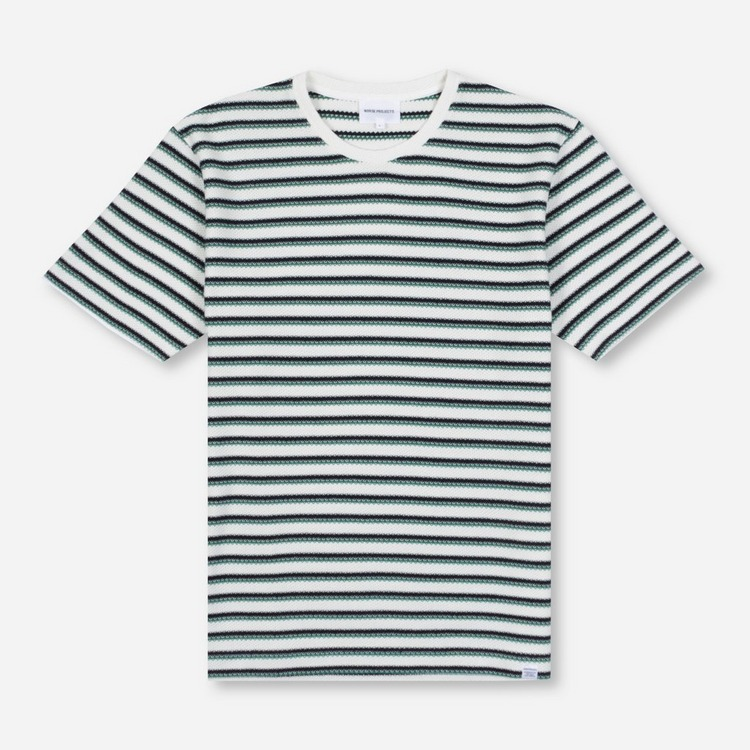 Norse Projects Johannes Jacquard Stripe T-Shirt
